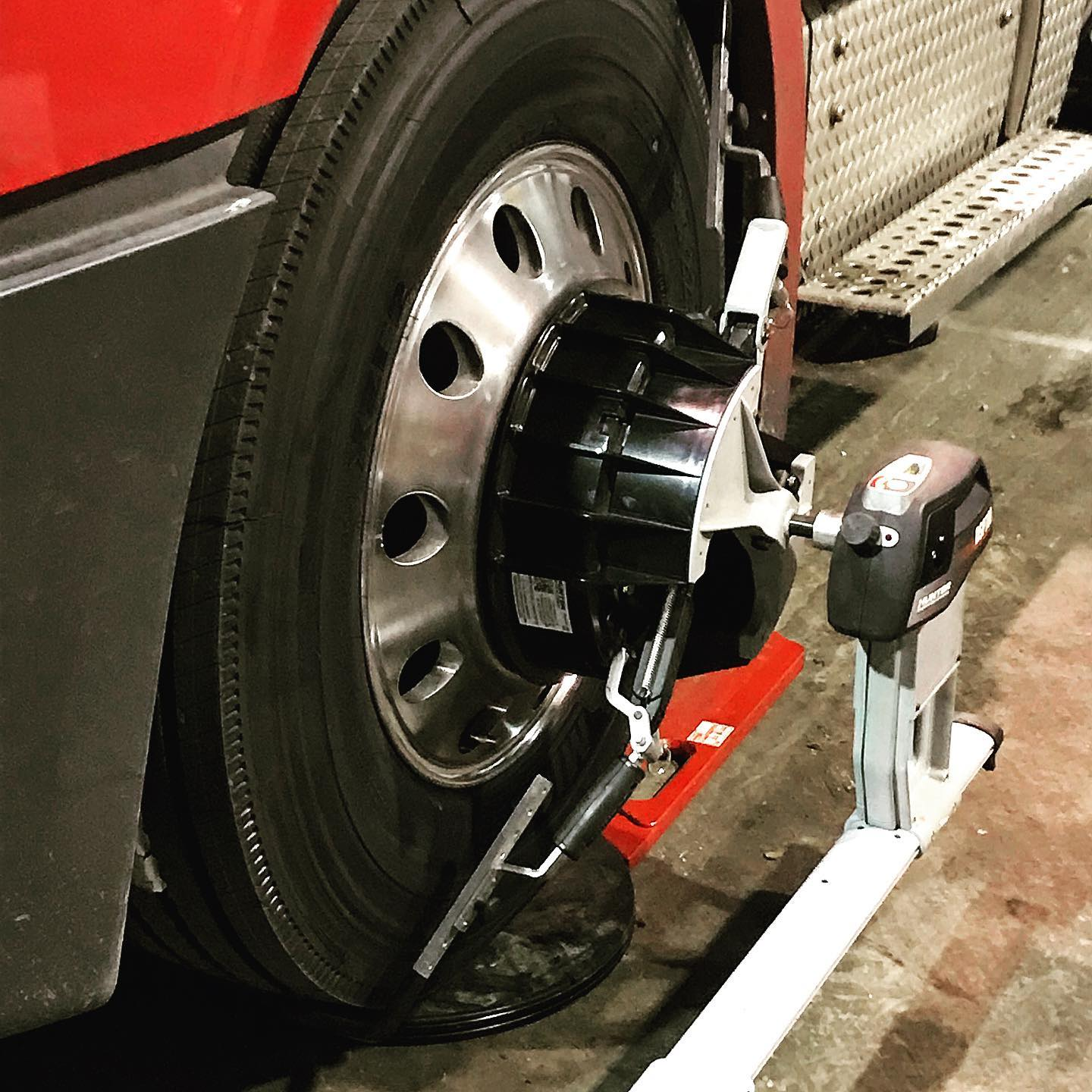 Diesel Truck Wheel Alignment Robert LA